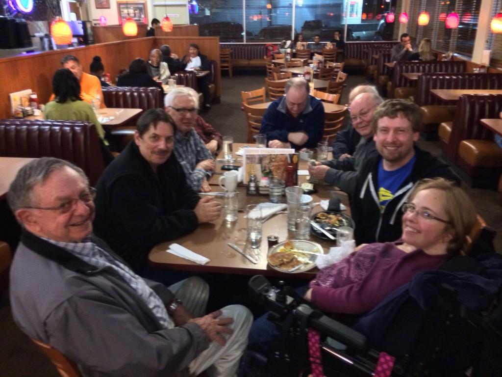 Board Meeting at Denny's (2/13/2014)